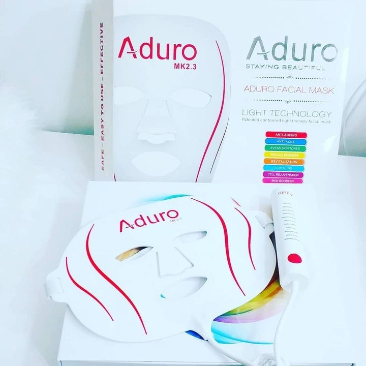aduro skincares light therapy colours and function