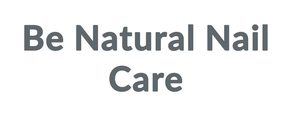 Be Natural Nail Care Coupons & Promo codes
