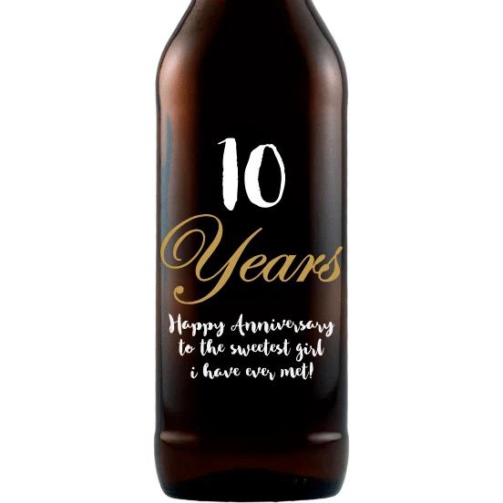 beer anniversary years