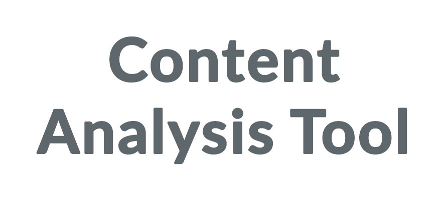 Content Analysis Tool Coupons & Promo codes
