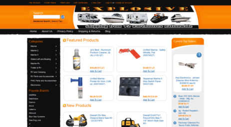 Explosive Powersports Coupons & Promo codes