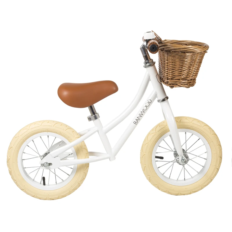for toddlers first go white balance bike