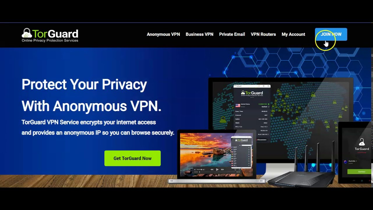 going basic with the anonymous vpn service