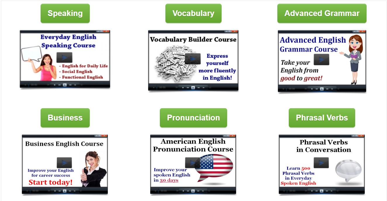 good english course and e book