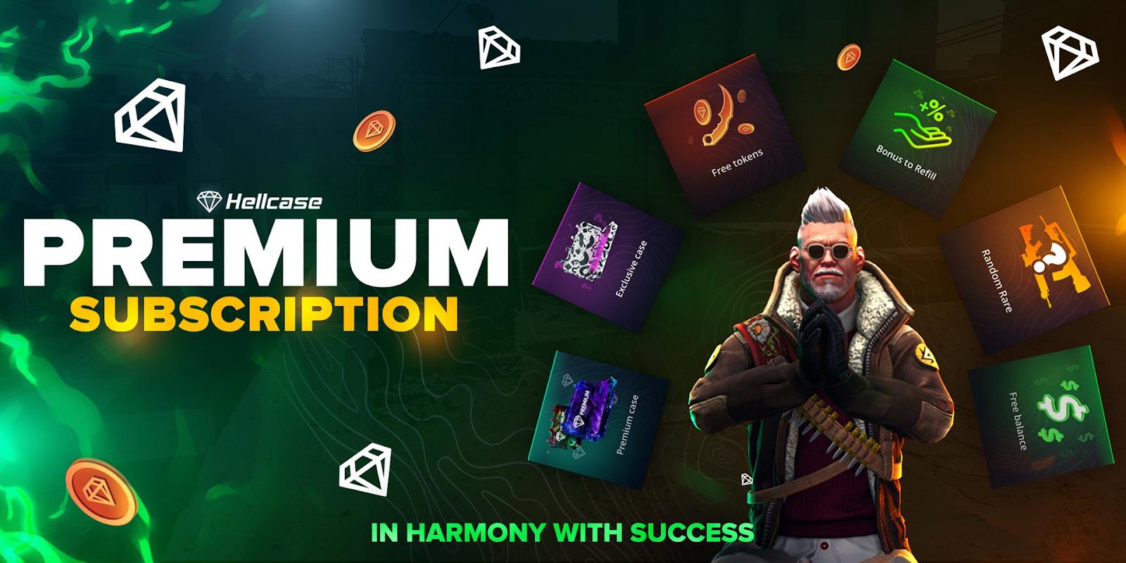 hellcase premium plans