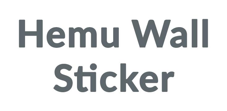 Hemu Wall Sticker Coupons & Promo codes
