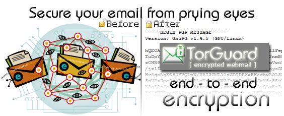 hide all online exchanges from privy eyes with the private email service