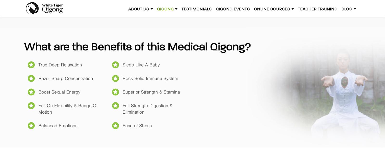how qigong benefits us