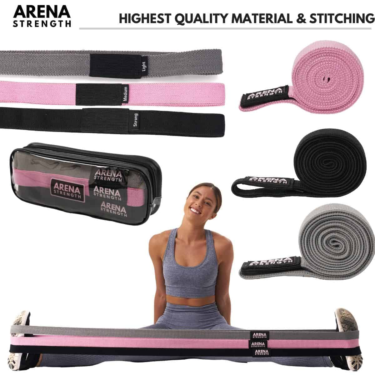is arena fabric booty band set worth buying 3