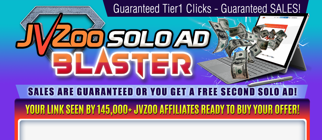 Jvzoo Solo Ad Blaster Coupons & Promo codes