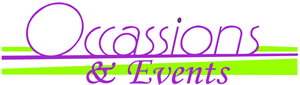 Occasions And Events Plus Coupons & Promo codes