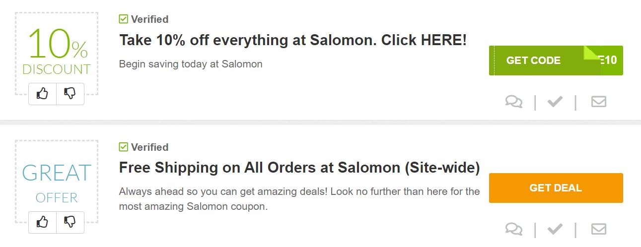 salomon coupon