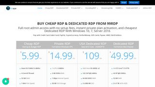 99RDP Coupons & Promo codes