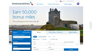 american airline promo code student
