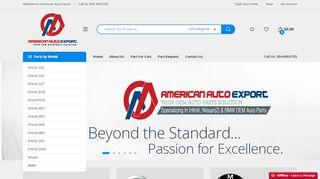 AmericanAutoExport Coupons & Promo codes