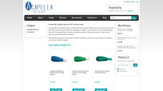 Acapella Vibratory PEP Coupons & Promo codes