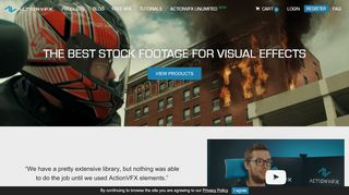 ActionVFX Coupons & Promo codes