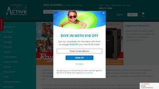 Active Pool Supply Coupons & Promo codes
