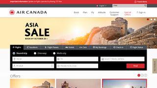 Air Canada Promo Code & Discount codes