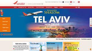 Air India Promo Code & Discount codes