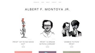 Albertmontoya.bigcartel.com Coupons & Promo codes