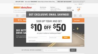 80 Off Autozone Com Coupons Promo Codes November 2020