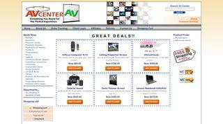 Avcenterav.com Coupons & Promo codes