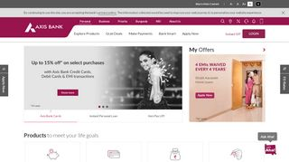 70 Off Axisbank Com Coupons Promo Codes May 2020