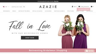 Azazie Promo Code & Discount codes