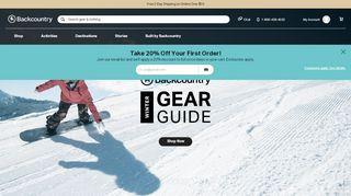 Backcountry Com Coupon Code 10 Off & Promo codes