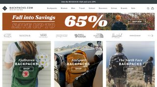 Backpacks Coupons & Promo codes