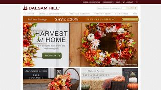 Balsam Hill Coupon & Promo codes