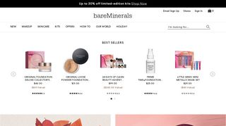 Bareminerals Promo Code & Discount codes