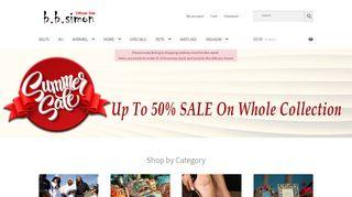 B B Simon Collection Coupons & Promo codes