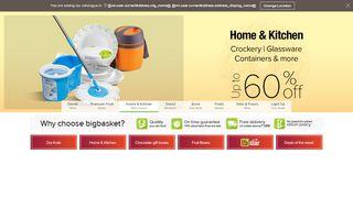 Big Basket Coupon For First Order & Promo codes