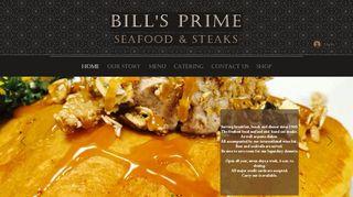Bills Prime Seafood Coupons & Promo codes