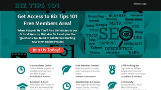 Biz Tips 101 Coupons & Promo codes