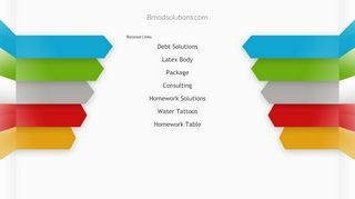 Bmod Solutions Coupons & Promo codes