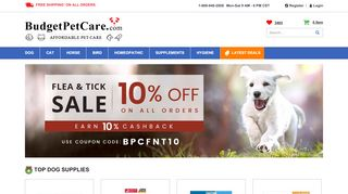 Budget Pet Products Discount Code & Coupon codes