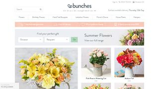 Bunches Promo Code & Discount codes