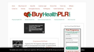 Buy Health PLR Coupons & Promo codes