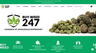 BuyWeed247 Coupons & Promo codes