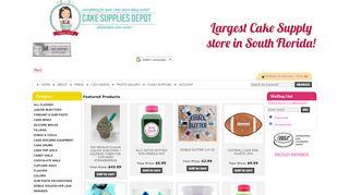 Cakesuppliesdepot.com Coupons & Promo codes