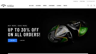 Callaway Golf Preowned Discount Codes & Coupon codes