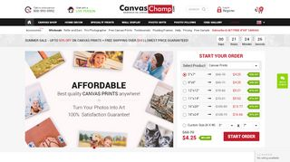 Canvas Champ Discount Code & Coupon codes