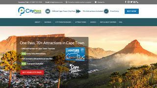 Cape Town City Pass Coupons & Promo codes
