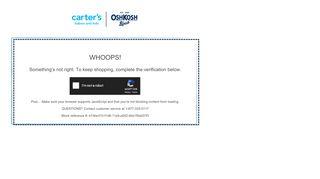 Carters Oshkosh Canada Coupon & Promo codes
