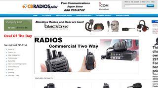 CB Radios Plus Coupons & Promo codes