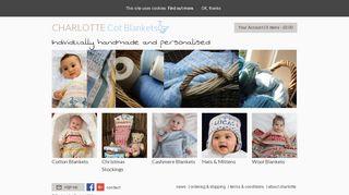 Charlottecotblankets.com Coupons & Promo codes