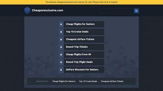 Cheaporexclusive.com Coupons & Promo codes